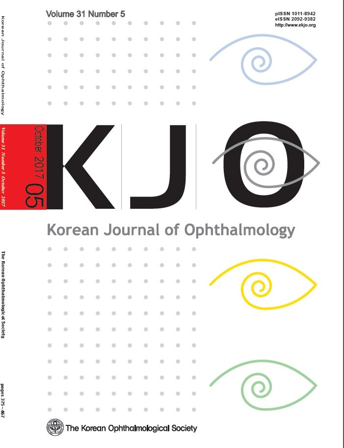 Korean Journal of Ophthalmology